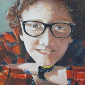 Dorus 2010 olieverfportret